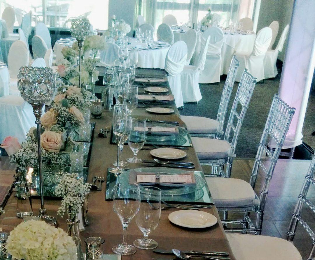 La Table habillée par Lyne Daigle, ambiance bucolique et champêtre